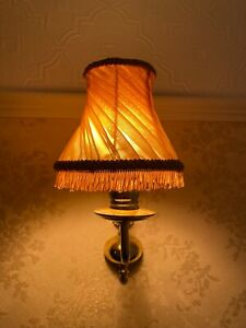 Original Vintage Gold Lampshade