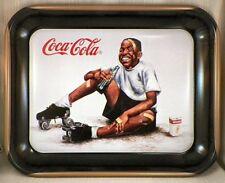 """Coca-Cola Tray Summer Smiles  """" Black Memorabilia """""""