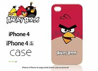 ANGRY BIRDS GEAR4 HARD SHELL CLIP-ON CASE COVER FOR IPHONE 4 / 4S - RED BIRD
