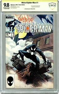 Web of Spider-Man #1 CBCS 9.8 SS 1985 20-40537F8-009