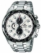 Luxury Polished Round Wristwatches with Chronograph