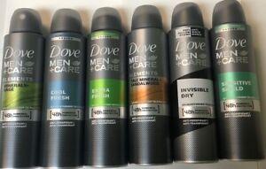 Dove Deodorant Anti-antiperspirant Body Spray For MEN 150 Ml / 5 oz ( 6 Pack )