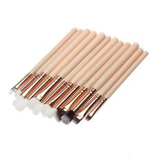 12Pcs Pro Makeup Brush Set Eyeshadow Eyeliner Eye Lip Brushes Tool Rose Gold Kit