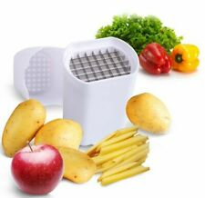 One Step Natural French Fry Cutter Vegetable Fruit Potato Slicer Chipper Durable