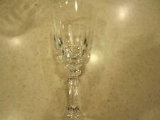 "Lady Victoria Crystal Stemware 4-3/8"" Tall Cordial Glass Chantelle Pattern"