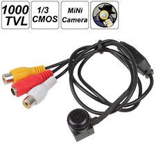 "Mini 1/3"" CMOS CCTV Covert Security Camera 0.1LUX / F1.2 1000 TV Line"