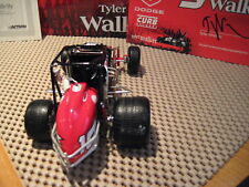 ACTION RACING XTREME - TYLER WALKER DODGE / AUTOGRAPHED 2004 SILVER CROWN XTREME
