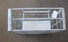 Vintage COCA-COLA Metal CRATE Carrier for COKE BOTTLES