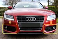 Genuine AUDI A5 2008-2012 S-LINE Bumper Fog Light Grill LEFT+RIGHT+CHROME