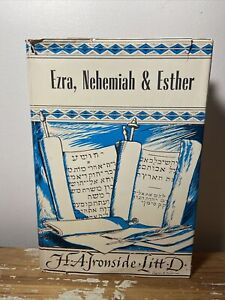 BOOKS OF EZRA NEHEMIAH AND ESTHER By H. A. Ironside - Hardcover