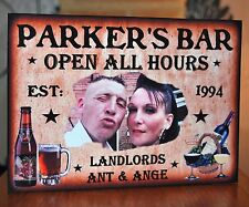 PERSONALISED BAR SIGN GARDEN SHED PUB HOME BAR DAD BIRTHDAY GIFT BEER MAN CAVE