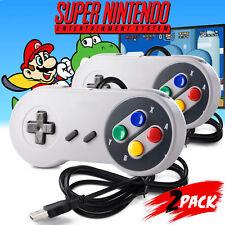 2pcs SNES USB Controller GamePad for Nintendo SNES PC Mac Raspberry Pi 3 Linux
