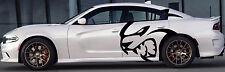 HUGE Dodge Decal Graphic Vinyl CHARGER MOPAR SRT LOGO HEMI 392 Hellcat hell cat