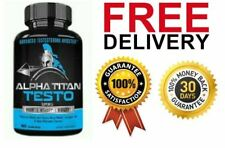 ALPHA TITAN TESTO 60 CAPS - Advanced Testosterone Booster FREE & FAST DELIVERY