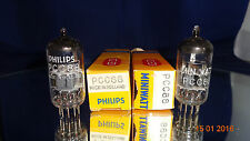 Philips PCC88 (~ ECC88 - CCa - E88CC - 6922)  Nos Nib paar Röhren Originalverp