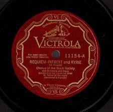 FAURE. Requiem. Gustave Bret, cond;  Morturieur, bar. Vic 11154/8 M-