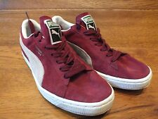 Puma Suede Burgundy  Classic Casual Trainers UK 6 / 39