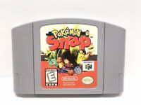 Pokemon Snap Nintendo 64 N64 Rail Safari Shooter/Photo Pictures Game AUTHENTIC