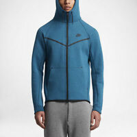 Mens Nike Sportswear Tech Fleece Windrunner 805144-457 Blue Brand New Size XL