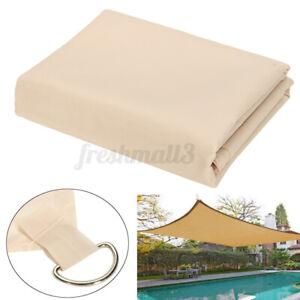 98% UV Garden Sun Shade Sail Patio Tent Sunscreen Awning Canopy Waterproof  AU