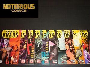 Shadow Roads 1-10 1 2 3 4 5 6 7 8 9 10 Complete Comic Lot Set Oni Cullen Bunn