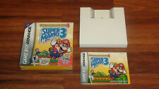 Super Mario Advance 4 Bros 3 BOX & MANUAL ONLY! Nintendo Game Boy Advance VARIES