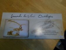 Leonardo DaVinci Ornithopter Precut Wood Kit Working Model Easy Assembly