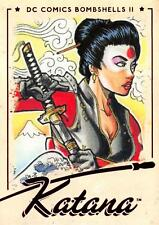 KATANA / DC Comics Bombshells II 2 (2018) BASE Trading Card #55