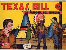 ALBO MICNON VICTORY TEXAS BILL ORIGINALE ANNO 1948 NUMERO 40