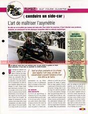 Pilotage : Conduire un Side-Car Joe Bar Team Fiche Moto #006165