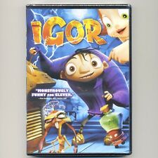 Igor PG 2008 animated kids' science fantasy movie, new DVD, Cusack, Buscemi Leno