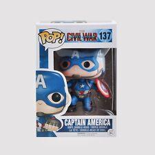 Funko POP! Civil War Marvel Iron Man 3 Black Widow Bobble Head Toy 4in