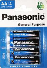 Lot de 16 Piles Panasonic AA R06 soit 4 Paquet 1,5 V EXP: 2022 , 4 + 1 Gratuits