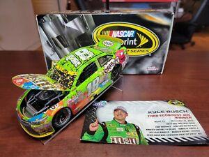 2015 Kyle Busch #18 M&M's Crispy Homestead Win JGR Toyota 1:24 NASCAR Action MIB