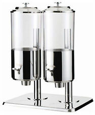 NEW DOUBLE COMMERCIAL HOTEL CAFE BUFFET CEREAL/FOOD DISPENSER - AT90123-2