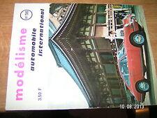 Revue Modelisme Modeles reduits automobiles n°56 Char AMX 30 Ferrari 250 GT