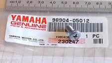 Yamaha Nuevo Genuino Sensor / combustible abrazadera / Capucha Panel vinculante Tornillo 98904-05012