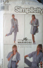 Vintage Simplicity Pattern Pants Shorts Skirt Jacket 6 SEWING