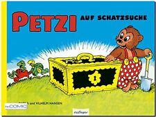 Petzi 4 Petzi auf Schatzsuche Vilhelm Hansen 9783480230129 BILDERBUCH 60er Comic