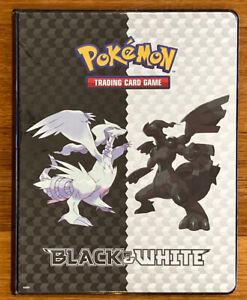 Pokemon Trading Card Game Album Black & White Ultra-Pro USA