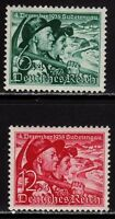 THIRD REICH 1938 mint Sudetenland Annexation stamp set!