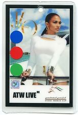JENNIFER LOPEZ Concert Tour Laminate Backstage Pass!!! Authentic stage DUBAI
