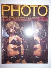 Magazine PHOTO French #31 avril 1970 leçons de Bruno Barbey et Helmut Newton