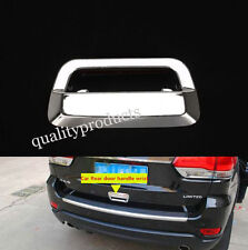 Chrome Rear tail door handle bowl cover trim for Jeep Grand Cherokee 2011-2015