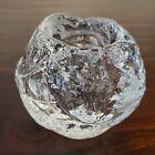 "Kosta Boda Snowball Glass Votive Ann Warff 3"" Tall MCM - NO 🍁 DUTY"