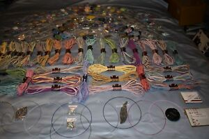 HUGE LOT - BEADS &JEWELRY MAKING  SUPPLIES -BEST EVER! 25 BAGS + Bonuses&Xtras