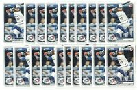 x75 BO BICHETTE 2020 Bowman #52 Rookie Card RC logo lot/set Toronto Blue Jays!!!