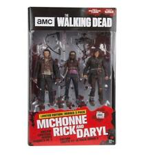 The Walking Dead Rick, Michonne & Daryl Hero 3-pack Deluxe Figure Box Set