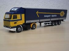 "Herpa - Scania 143 Streamline Planen-Sattelzug ""ASG"" - Nr. 303637 - 1:87"