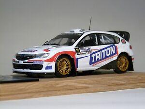 SUBARU IMPREZA WRC Kenny McKinstry / GAFFIN Bishopscourt Rally 2013 code3 diecas